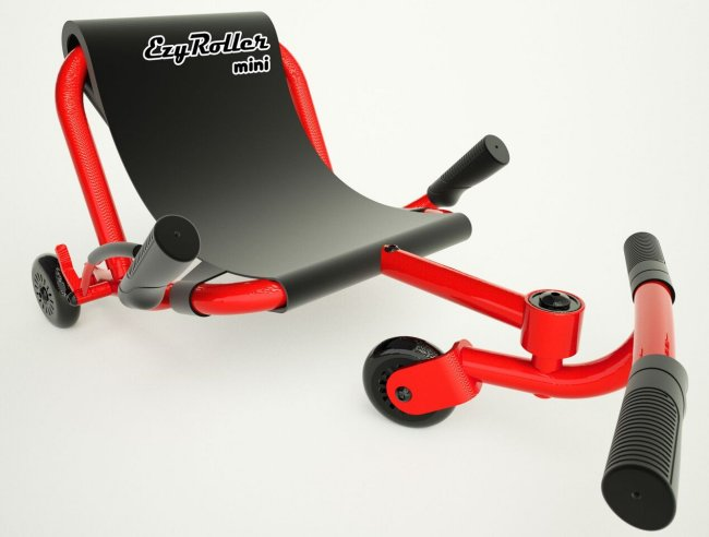 Ezy Roller Mini Kids 3 Wheel Ride On Toy Riding Machine ... Kids Sitting Scooter